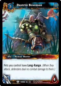 warcraft tcg throne of the tides dastrin bowman