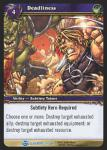 warcraft tcg blood of gladiators deadliness