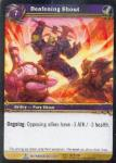 warcraft tcg archives deafening shout foil