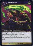 warcraft tcg archives deathblow foil