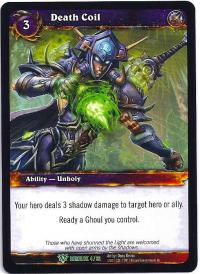 warcraft tcg class decks 2011 spring death coil cd