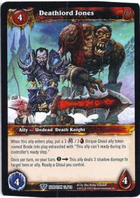 warcraft tcg class deck 2013 spring deathlord jones cd 13
