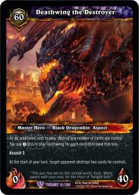 warcraft tcg twilight of the dragons deathwing