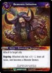warcraft tcg war of the ancients demonic infusion