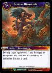 warcraft tcg war of the ancients devious dismantle