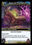 warcraft tcg fields of honor dimzer the prestidigitator