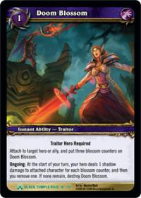 warcraft tcg black temple doom blossom