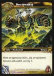 warcraft tcg archives doomwalker foil