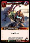 warcraft tcg foil hero cards dragonslayer drux