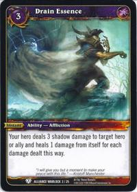 warcraft tcg class deck 2013 spring drain essence cd