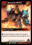 warcraft tcg foil hero cards drazul the molten