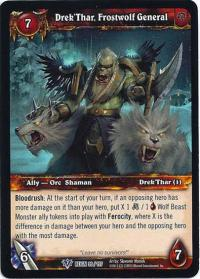 warcraft tcg reign of fire drek thar frostwolf general