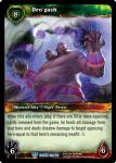 warcraft tcg crown of the heavens dro gash