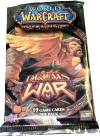 warcraft tcg warcraft sealed product drums of war booster pack