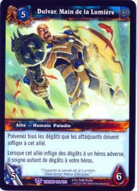 warcraft tcg throne of the tides french dulvar hand of the light french