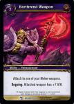 warcraft tcg march of legion eathrend weapon