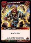 warcraft tcg foil hero cards earthseer nakza