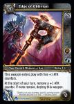 warcraft tcg scourgewar edge of oblivion