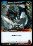 warcraft tcg foil hero cards edwin blademark