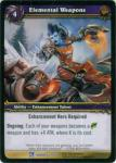 warcraft tcg fields of honor elemental weapons