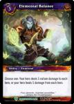 warcraft tcg battle of aspects elemental balance