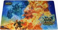 warcraft tcg playmats war of the elements epic collection playmat