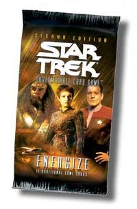 star trek 2e star trek 2e sealed product energize booster pack