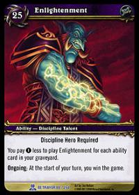 warcraft tcg servants of betrayer enlightenment