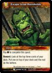 warcraft tcg betrayal of the guardian escape from durnholde