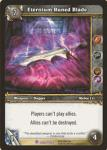 warcraft tcg crafted cards eternium runed blade