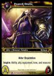 warcraft tcg servants of betrayer exarch orelis