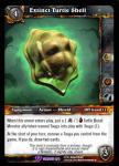 warcraft tcg crafted cards extinct turtle shell
