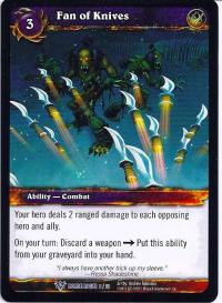 warcraft tcg class decks 2011 spring fan of knives cd