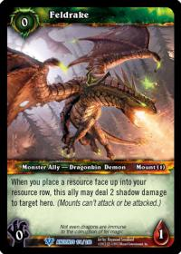 warcraft tcg war of the ancients feldrake