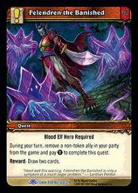 warcraft tcg the dark portal felendren the banished