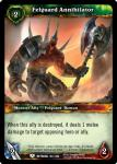 warcraft tcg betrayal of the guardian felguard annihilator