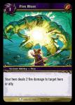 warcraft tcg archives fire blast foil