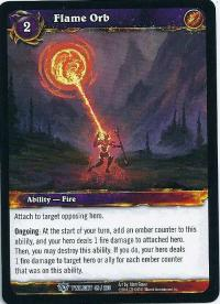 warcraft tcg twilight of the dragons flame orb