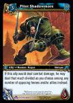 warcraft tcg scourgewar flint shadowmore