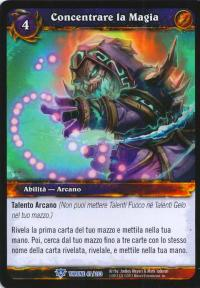 warcraft tcg throne of the tides italian focus magic italian
