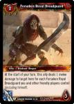 warcraft tcg dungeon deck treasure forsaken royal dreadguard
