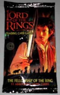 lotr tcg lotr sealed product fellowship of the ring booster pack