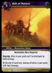 warcraft tcg servants of betrayer gift of nature