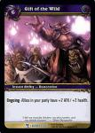 warcraft tcg march of legion gift of the wild