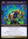 warcraft tcg wrathgate gift of the earthmother