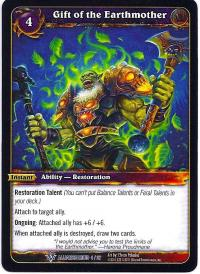 warcraft tcg class decks 2011 spring gift of the earthmother cd