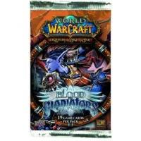 warcraft tcg warcraft sealed product blood of gladiator s booster pack