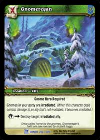 warcraft tcg fields of honor gnomeregan