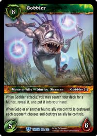 warcraft tcg throne of the tides gobbler