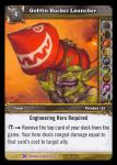 warcraft tcg crafted cards goblin rocket launcher